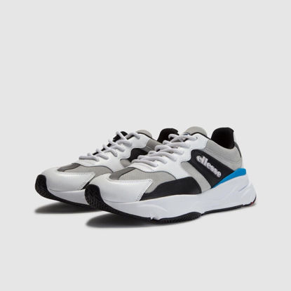 Picture of aurano trainer blue/grey LT GRY/WHT/BLK