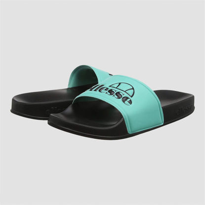 Picture of Flipo slippers turquoise, black
