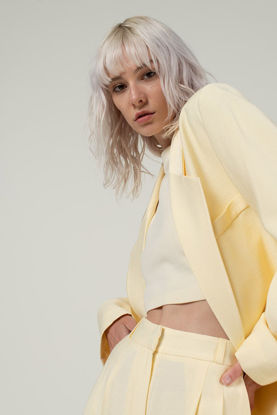 Picture of Oversize Jacket Yellow