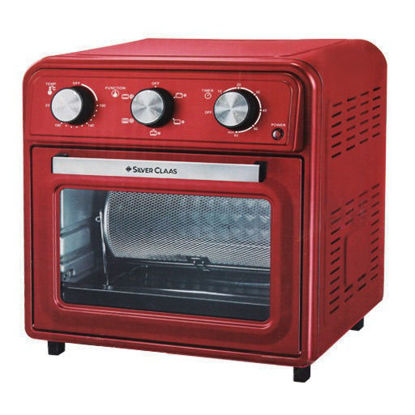 Picture of Silver Class Air Fryer with Oven, with a capacity of 25 liters