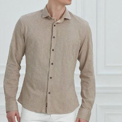 Picture of Turkish plaid men's shirt first class