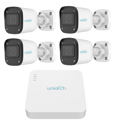 Picture of IP surveillance camera system from Uniarch