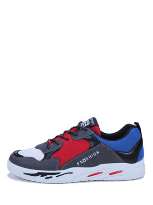 Picture of Men's Sneakers All Match Color Block Anti-Skid Fashion Soft Sneakers - Size: 42