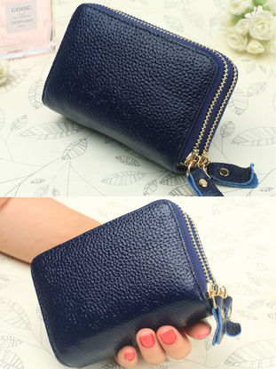 Picture of Women's Key Bag Solid Color Simple Style Versatile High Quality Bag - Size: One Size