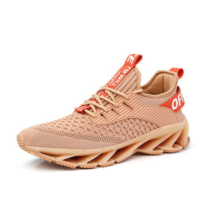 Picture of Men's Sports Shoes Fashion Lacing Anti-Skidding Breathable Shoes - Size: 46