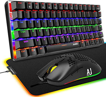 """Picture of Large desk gaming pillow<br>P100 Mouse + Keyboard """""""