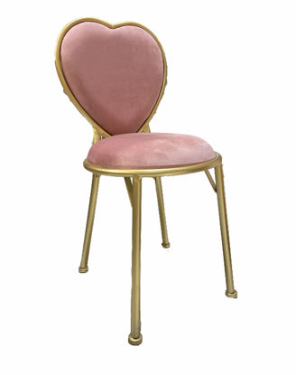 Picture of Modern chair - pink modern chair