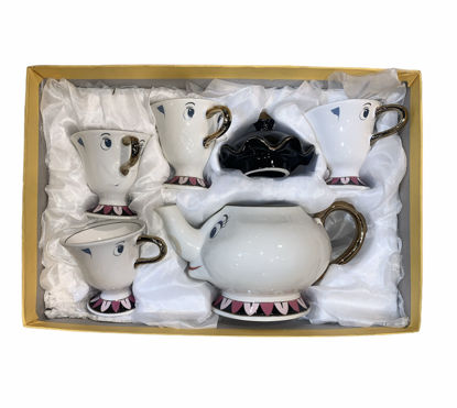 Picture of Teapot with 4 cups