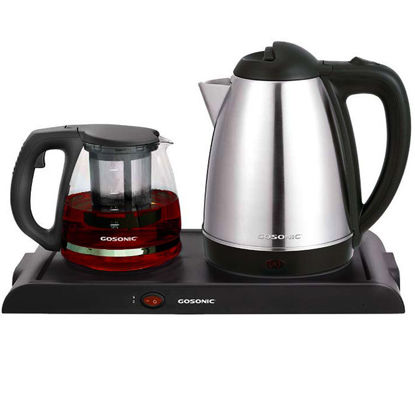 Picture of Steel kettle and teapot Furfury