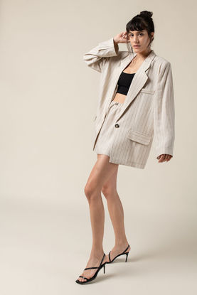Picture of Linen Jacket Sand