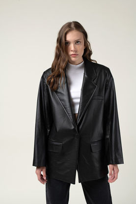 Picture of Turkish leather women's jacket first class
