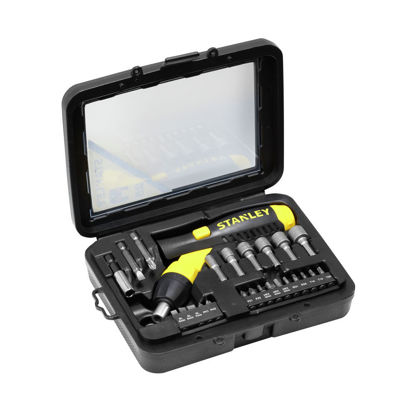 Picture of STANLEY PISTOL GRIP RATCH SET - 22 PC