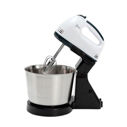 Picture of Hand Held Food Mixer With Bowl And Stand Base For Kitchen 350W
