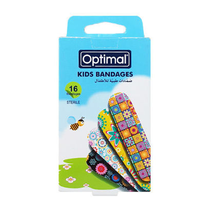 Picture of KIDS BANDAGE-FLOWERS-MULTI COLOR